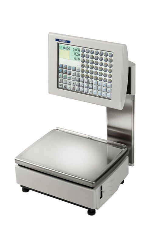 una bilancia con monitor digitale