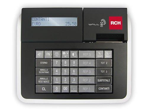 un registratore di cassa  della marca rch