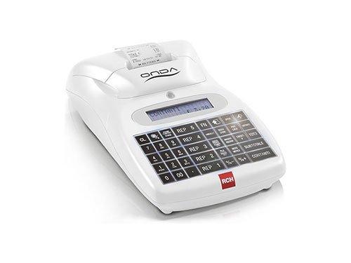 un registratore di cassa bianco della marca rch