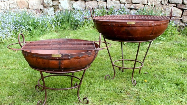 Barbecue kadai