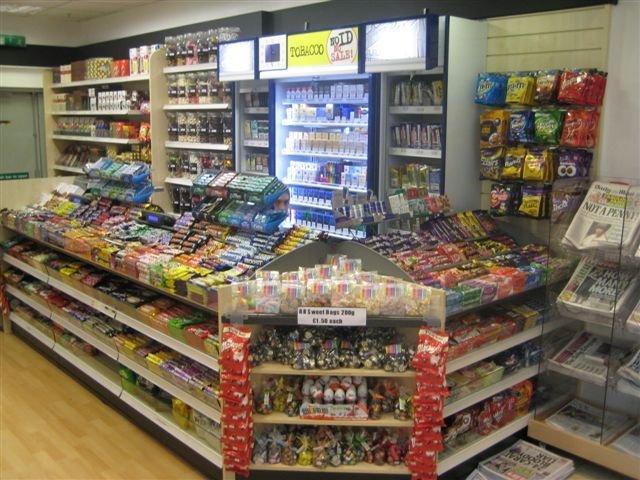 neatly arranged store