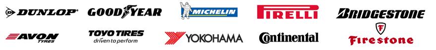 car tyre company logos