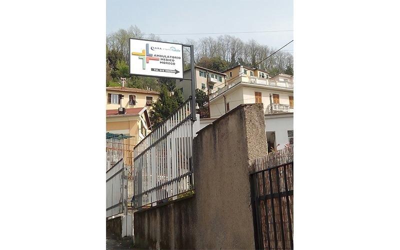 Ambulatorio medico Valpolcevera Morego San Quirico