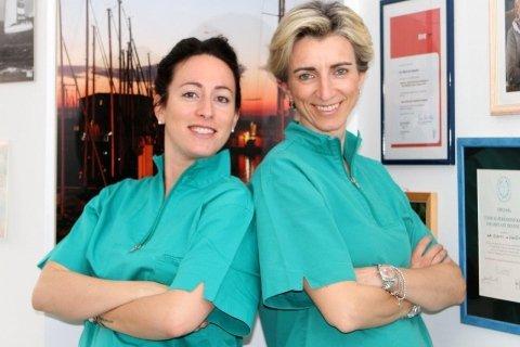Elisa dott.ssa Sossi e Ilaria dott.ssa de Visintini