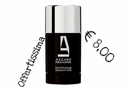 un deodorant stick della marca Azzaro