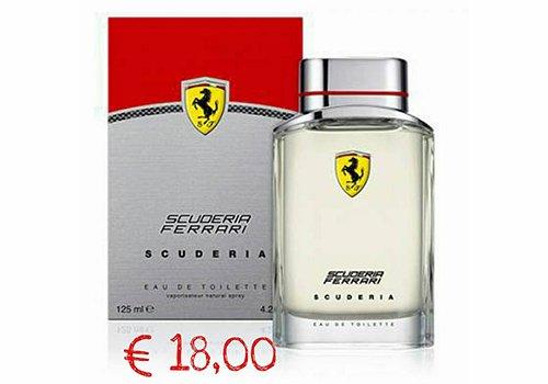 un profumo della marca Scuderia Ferrari