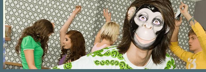teens dancing away at a disco