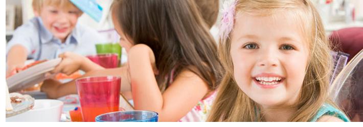 children enjoying a party