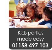 Kids parties made easy