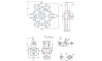 progetto lavoro su CAD