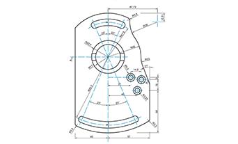 lavorazione CAD