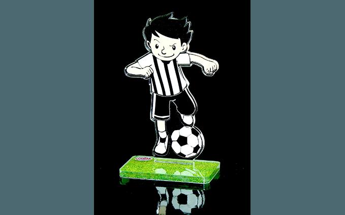 trofeo per partita di calcio