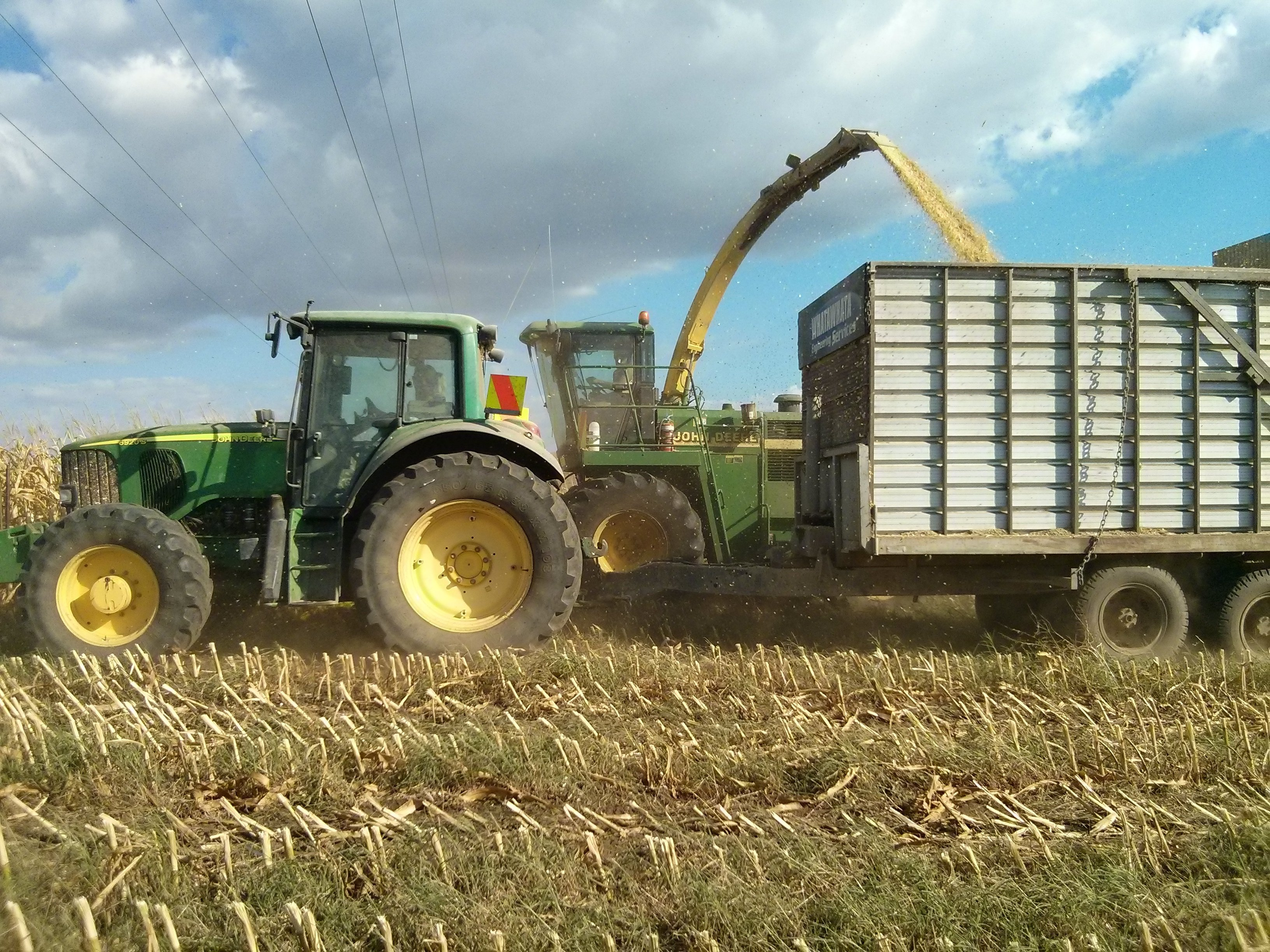 Completed farming services in Hamilton