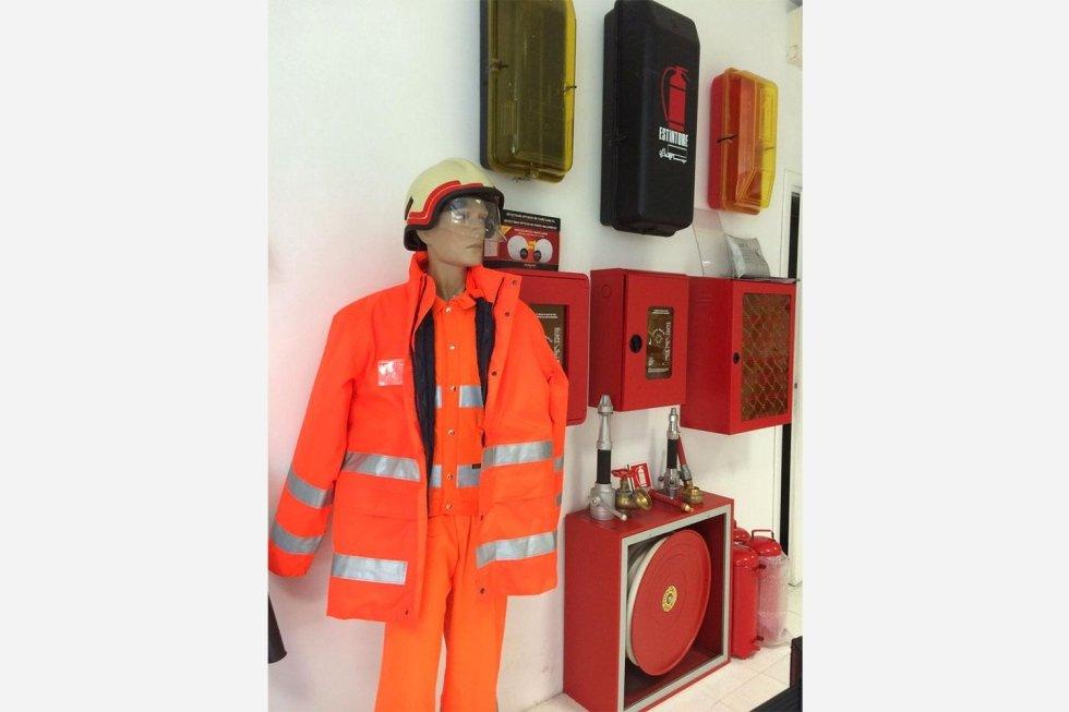abbigliamento antincendio