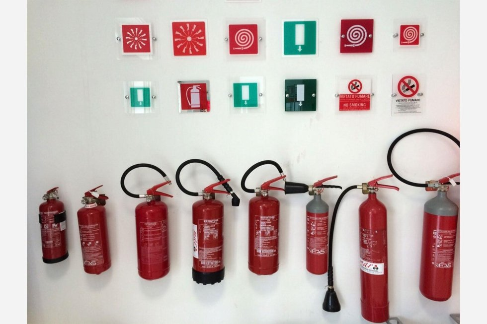 bombole antincendio