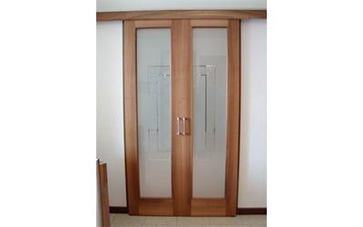 porte per interni in legno massello