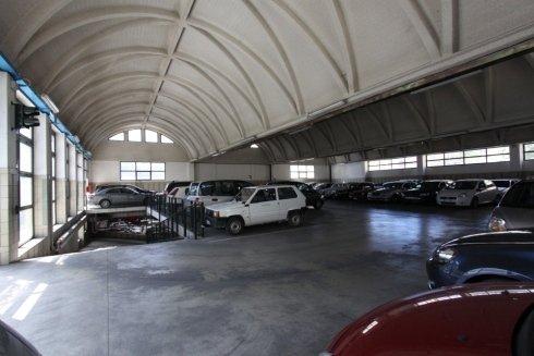 Parcheggio coperto in centro