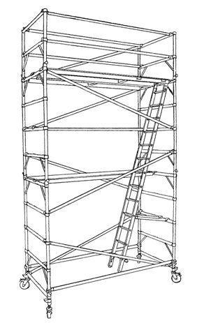 Alipro scaffolding sketch