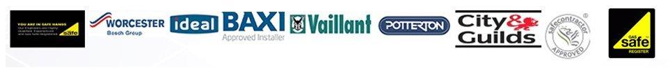 WORCESTER Vaillant BAXI Gassafe logos