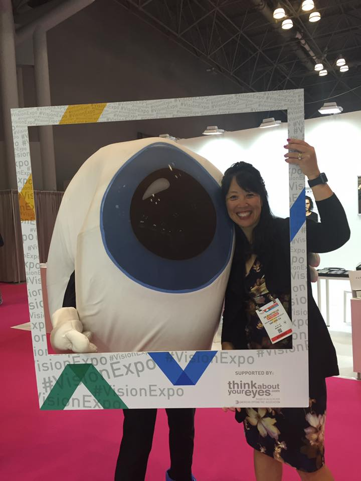Dr. Jeanette Lee at Vision Expo
