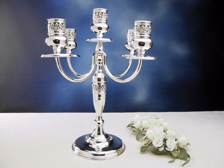 candelabri in argento