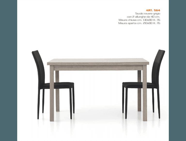 Tavolo 130x80-564