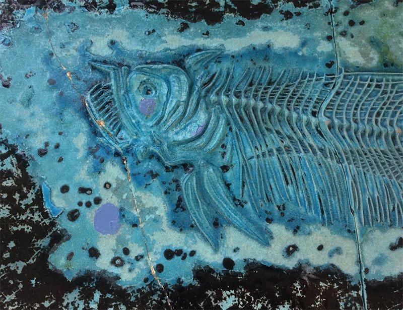 1920s Ceramic Fish