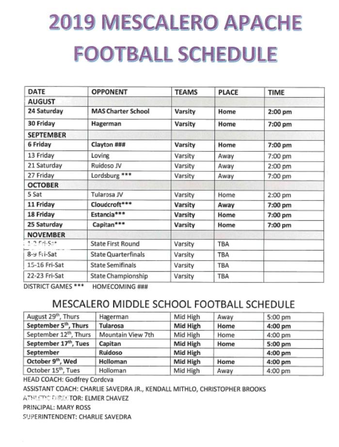 Mescalero Apache Schools