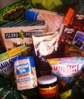 Gift baskets delivered in Maui from Jumpin for Joy