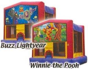 Buzz or Winnie the Pooh inflatables in Wailuku, HI