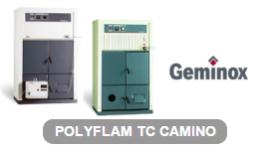 caldaie bio massa, caldaie per case indipendenti, logo Geminox