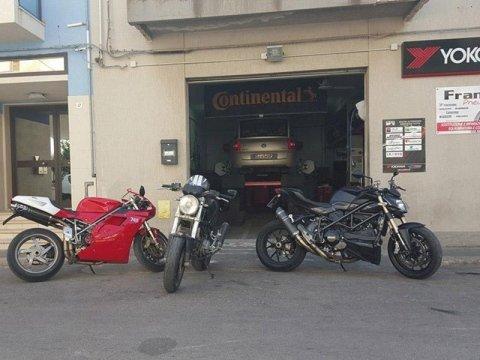 Pneumatici per motocicli