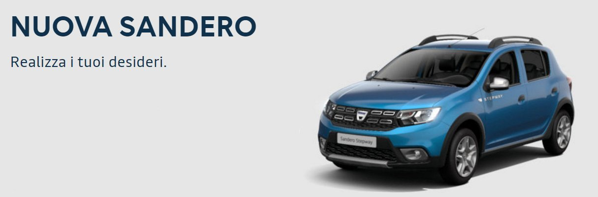 Dacia Sandero blu