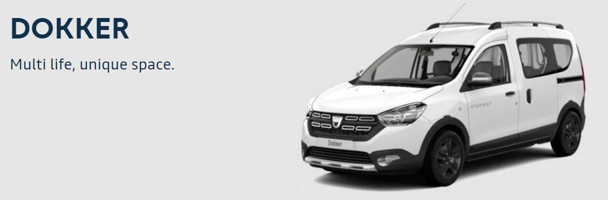 Dacia Dokker bianco