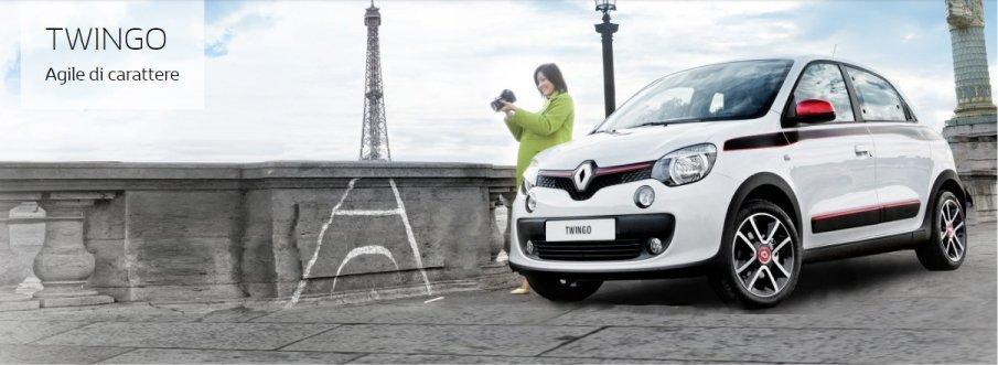 Renault Twingo bianca