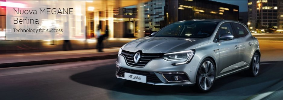 Renault Megane grigio metallizzato