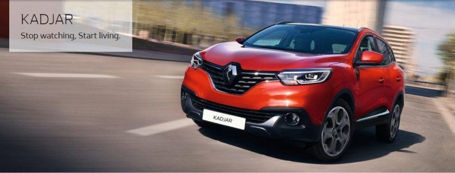 Renault Kadjar rossa