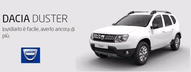 Dacia Duster bianca