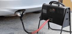 controllo gas scarico