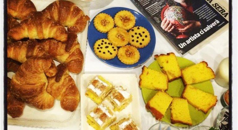 dolci e biscotti per la colazione