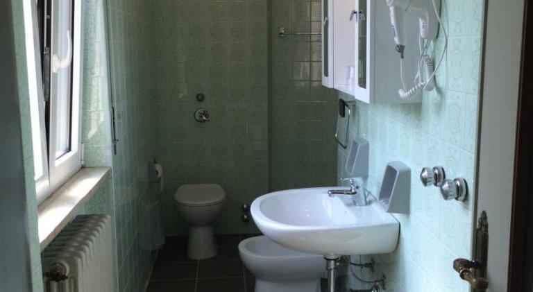 bagno in camera Hotel