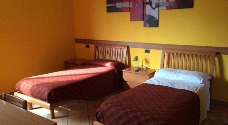 una camera doppia dell'Hotel