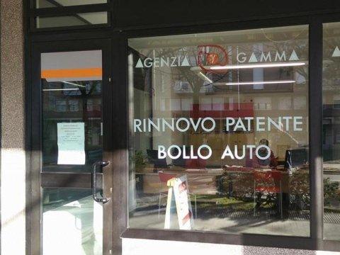 Vetrina Agenzia Gamma
