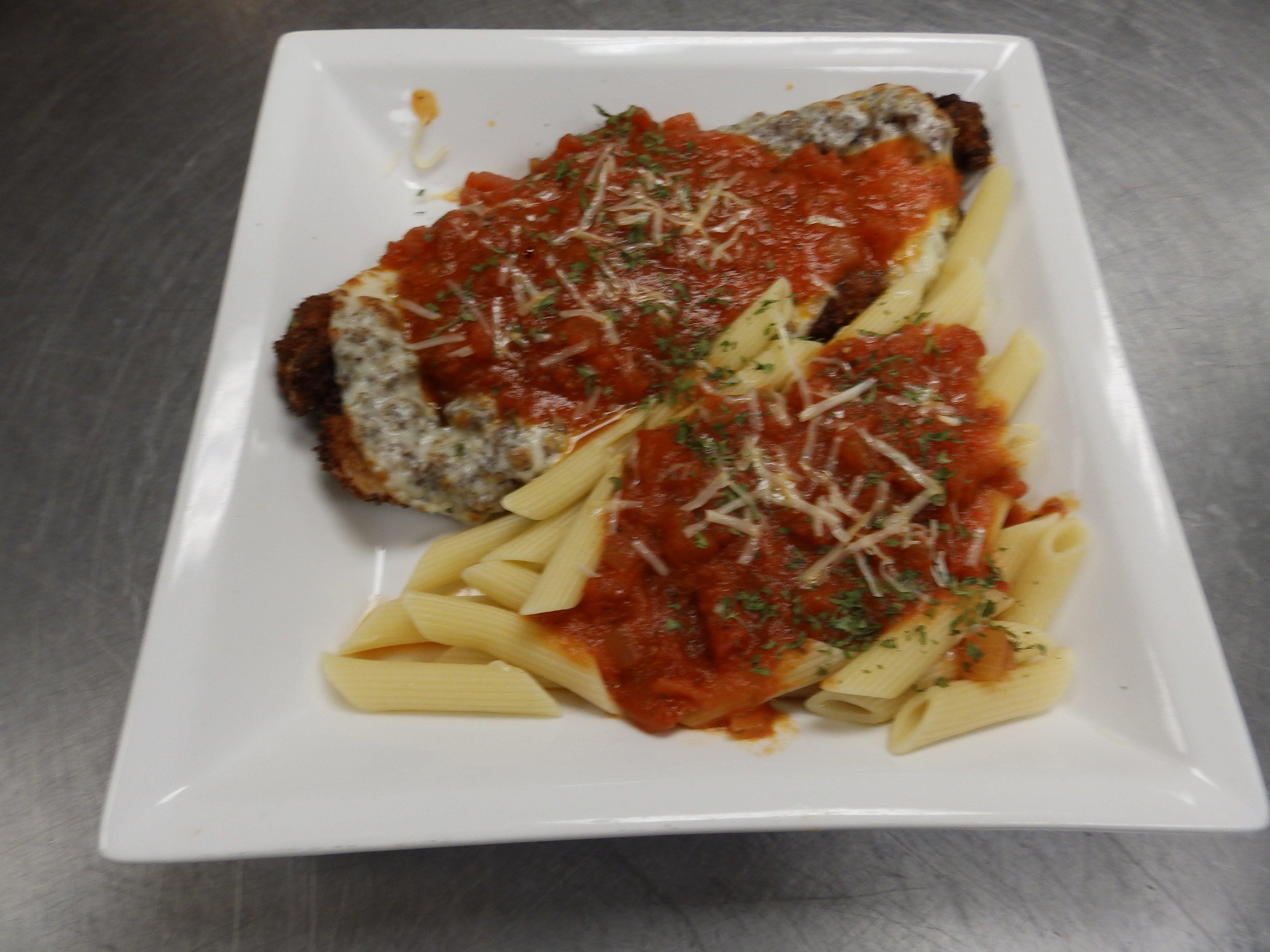 Charlmont Restaurant's chicken parmigiana
