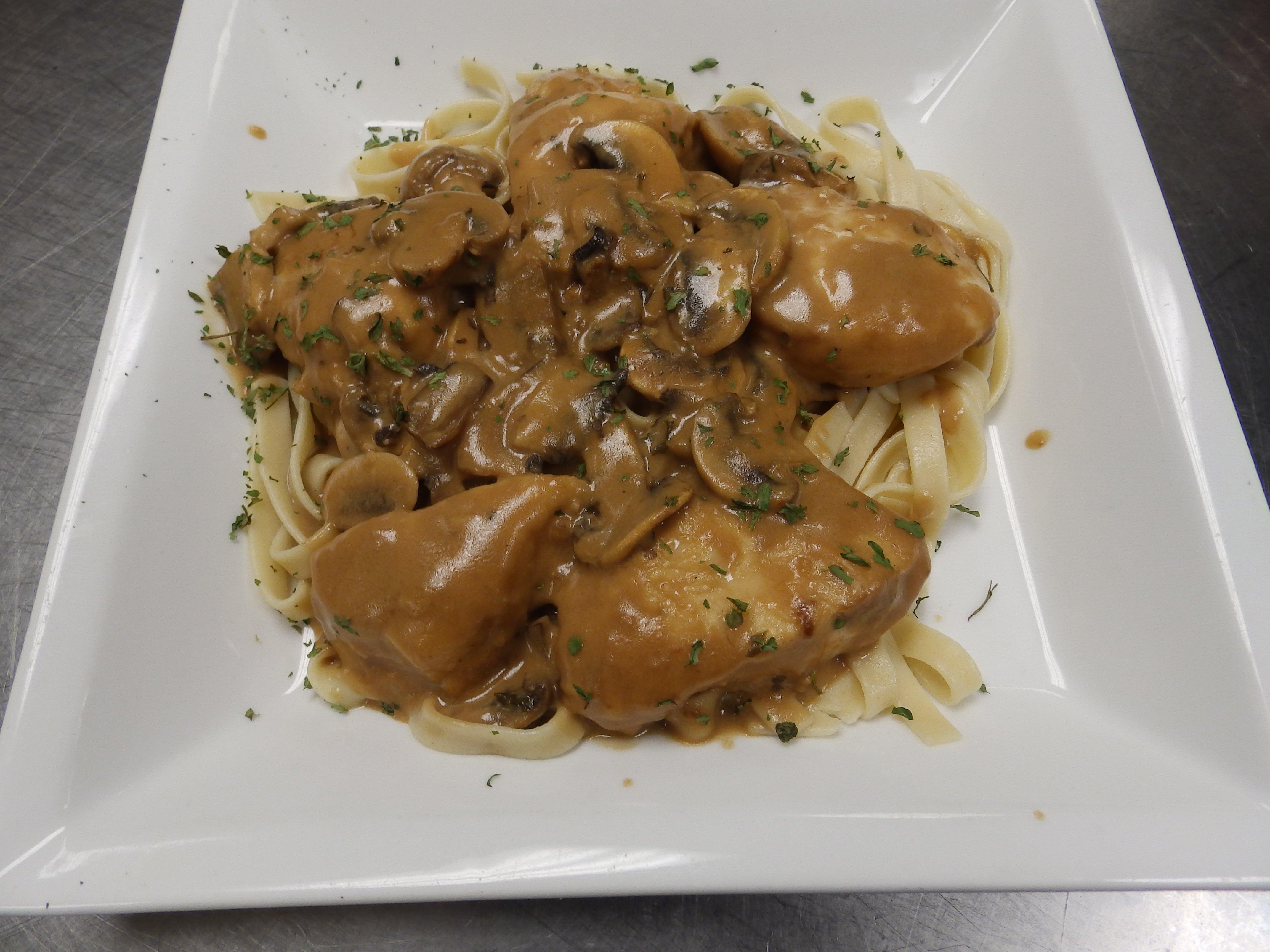 Charlmont Restaurant's chicken marsala