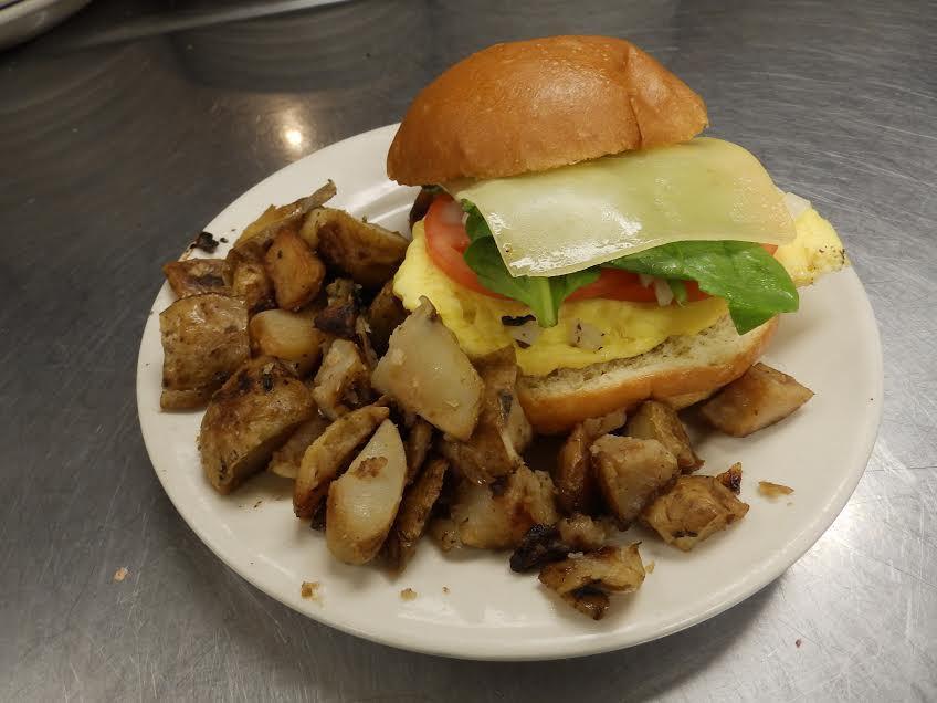 Charlmont Restaurant early riser sandwich