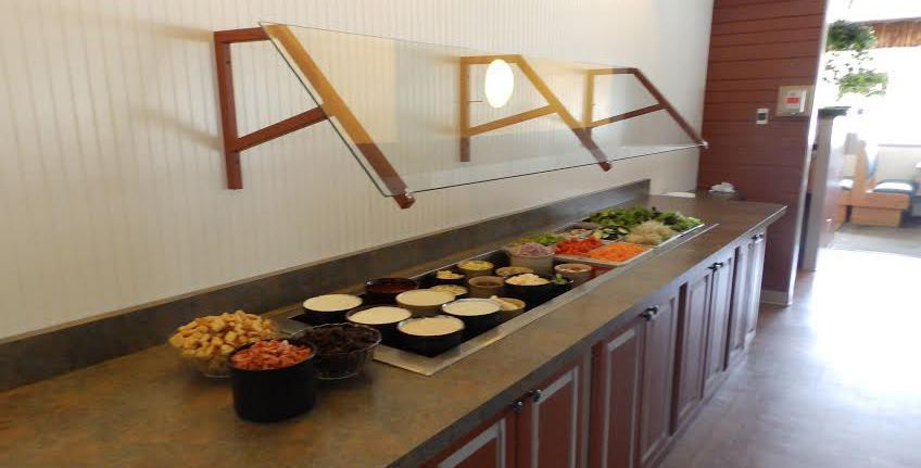 Charlmont Restaurant's Salad Bar