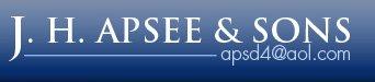 J. H. Apsee & Sons Company logo