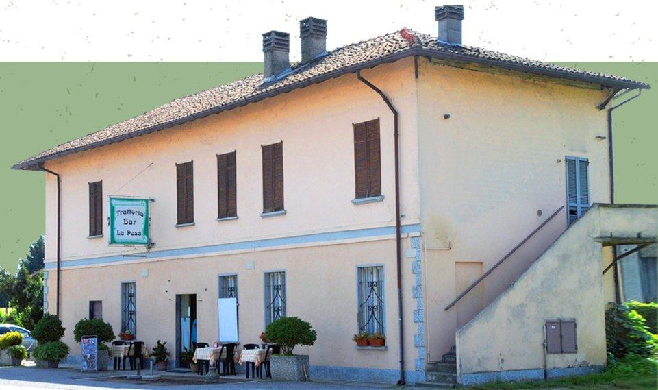 facciata esterna trattoria