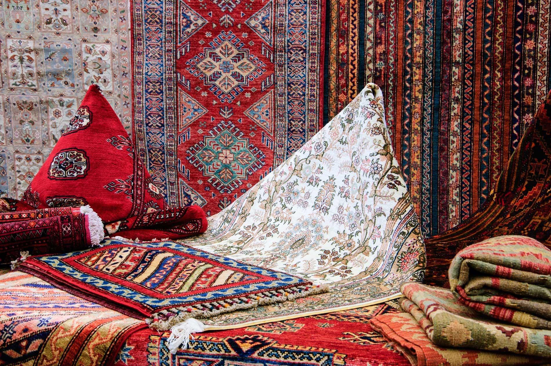 Gamma di tappeti pregiati
